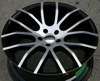 Giovanna Kilis 20 Black Rims Wheels Infiniti G35 G37 2dr 4DR 20 x 8 5