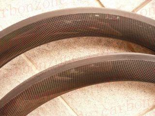 50mm 700c Carbon Road TT Bike Tubular Wheels Wheelsets