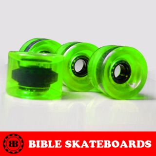Brand New Skateboard Longboard Wheels 78A SEALED Set of 4 with ABEC 9