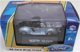 1940 Ford Drag Truck Hot Wheels Diecast 1 87