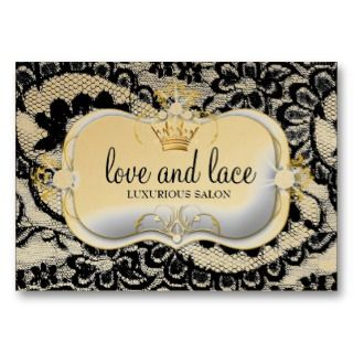 Luxe Ciao Bella Metallic Gold Appoint Business Cards
