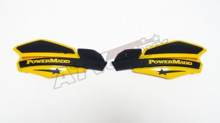 Star Handguards Black/Yellow KTM 65/85/105/125/250/450/505/525/620/625
