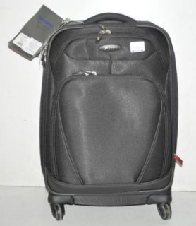 Samsonite 21 Black Xspace Expandable Rolling Carry on Luggage