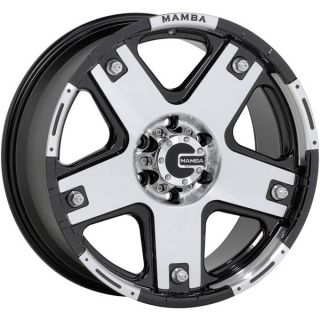 18 Mamba M6 Wheels Rim Escalade Tahoe Tacoma GMC Yukon