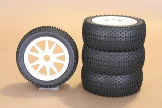 RC 1 8 Car Buggy Truck Tires Wheels Rims Package