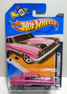 HOT WHEELS 2012 #115 MUSCLE MANIA FORD THUNDERBOLT  VARI ERROR