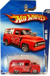 2010 Hot Wheels Performance 107 56 Ford Panel