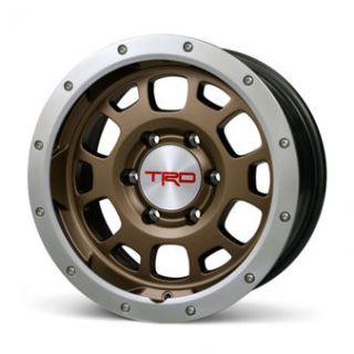 TRD 95 2013 Toyota Tacoma Bronze Finish Beadlock Wheel Set Caps and