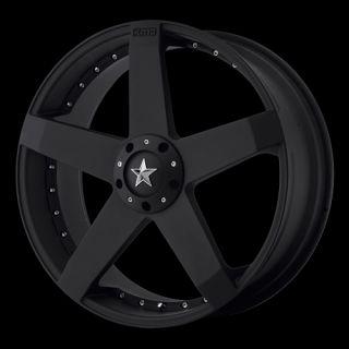 Mustang Maxima Lincoln LS Cougar Wheels Rims 22 KMC775