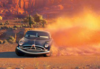 Disney Pixar Cars Red Wheels Fabulous Hudson Hornet Diecast Doc