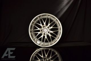 18 GT1 Hyper Silver Machined Lip C CL CLK E S