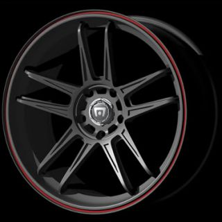 Escape Accord G37 Maxima MR117 Black 17 Wheels Rims