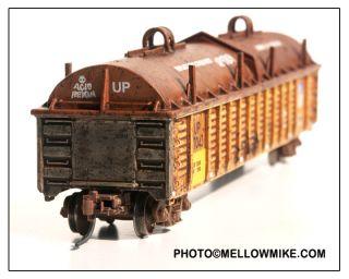 Custom Built Weathered Union Pacific Steel Coil Gondola