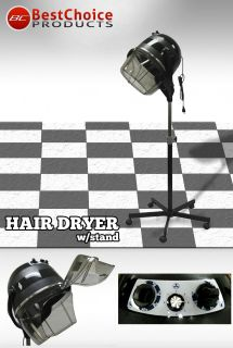 Beauty Salon Spa Equipment Hair Dryer w Stand 5 Wheels
