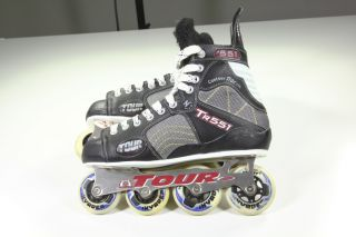 Tour TR551 Roller Hockey Inline Skates U s Size 11 MenS