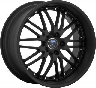 18 Rohana Wheels RL06 Matte Black 04 05 06 07 Odyssey
