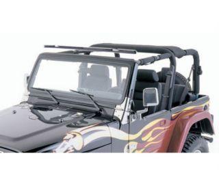 Smittybilt 90105 07 12 Jeep Wrangler JK Outback Windshield Channel