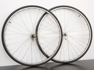 Shimano 105 Ambrosio Miele Road Bike Wheels 700c 7 SP