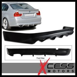 05 08 BMW E90 3 Series 4DR Sedan Rear Bumper Lip Spoiler Bodykit Poly
