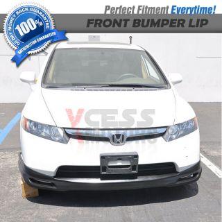 06 07 08 Honda Civic 4 Doors Sedan Urethane Front Bumper Lip Spoiler