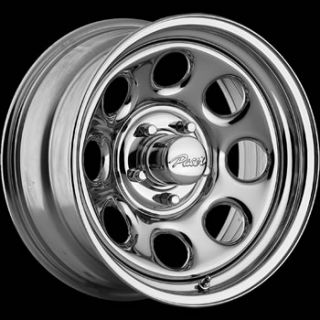 17x9 Chrome Pacer Soft 8 Wheels 5x5 5 0 Dodge RAM 1500 Ford F 150