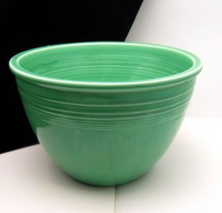 Vintage Fiesta Mixing Bowl 5 Green Homer Laughlin