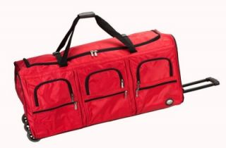 40 Heavy Duty Rolling Duffel Bag Wheeled Duffle Travel Luggage