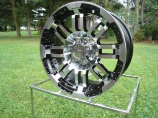 375 Warrior Wheels Fit Ford 04 Up F150 6 on 135 on Sale 18