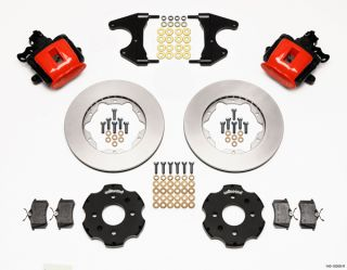 Wilwood Disc Brake Kit Rear Honda Civic 11 10208 Red Calipers
