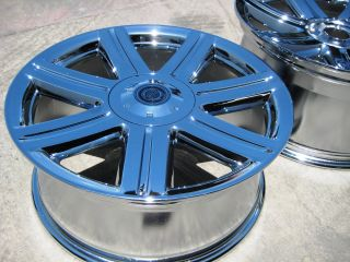 18 19 Chrysler Crossfire Factory Chrome Wheels Rims 2229 2230