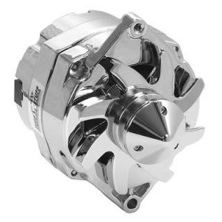 Tuff Stuff Silver Bullet Alternator 140 Amps Chrome Plated 12V GM 10SI