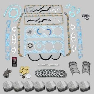 Federal Mogul Premium Engine Rebuild Kit SBC 400 030 Bore Stock Rods