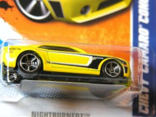 Hot Wheels 2011 113 Chevy Camaro Concept Yellow Kmart