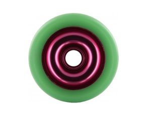 Eagle Sport Red Green Metal Core Wheel 100mm