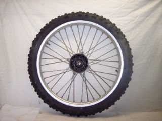 CR 250 500 125 CR125 CR500 CR500R Front Hub Tire Rim Wheel