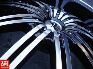 24 inch Wheels Rim Phantom PW 118 Stark II Wheels Rims