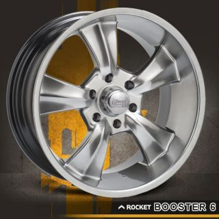 20x9 Chevy GMC Ford GM Dodge Truck Rocket Booster Wheels