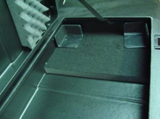 SKB 61 Key Keyboard Hard Case Black with Handel and Wheels