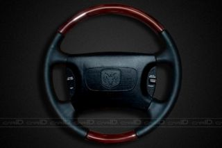 New 00 03 Dodge RAM Van Factory Style Steering Wheel American Walnut w