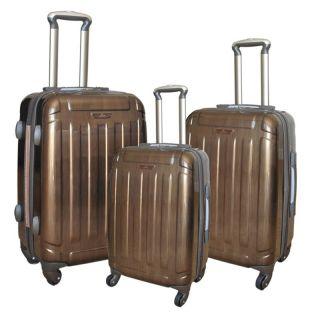 Polycarbonate Luggage 3pc Set 4WHEELS Spinner Hardsided