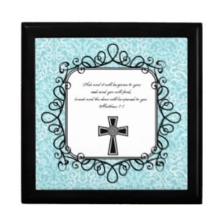 Matthew 77 Bible Verse Keepsake Box