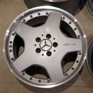 18 AMG 2 Piece Mercedes Alloys SL R129 Sec Split Rims