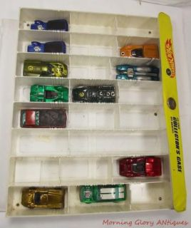 11 Vintage Hot Wheels Redlines in A Case