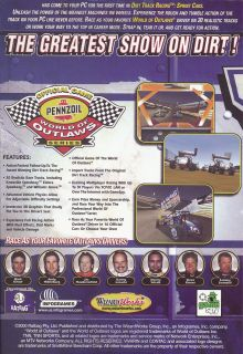 Dirt Track Racing Sprint Cars World of Outlaws New Box