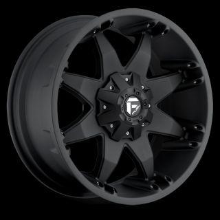 20 x9 Fuel Octane Black 6x135 w 20 Et D5092909857 Wheels Rims