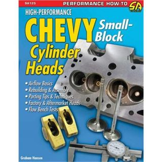 New High Performance SBC Chevy Cylinder Heads Book 144 Pages