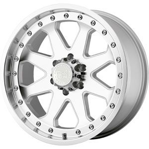 New 17X9 5 139.7 Imperial Silver Machined Face Wheels/Rims