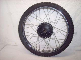 78 Honda XL175 XL 175 Enduro Front Tire Hub Rim Wheel