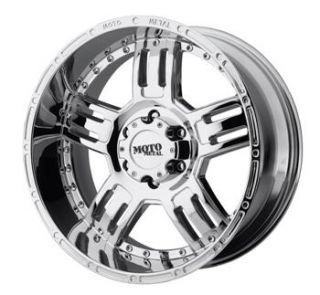 17x9 Chrome Moto Metal MO958 Wheels 8x170  12 Lifted FORD F 250 F350