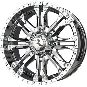 New 20x9 8x170 Raceline WHL Chrome Wheels Rims